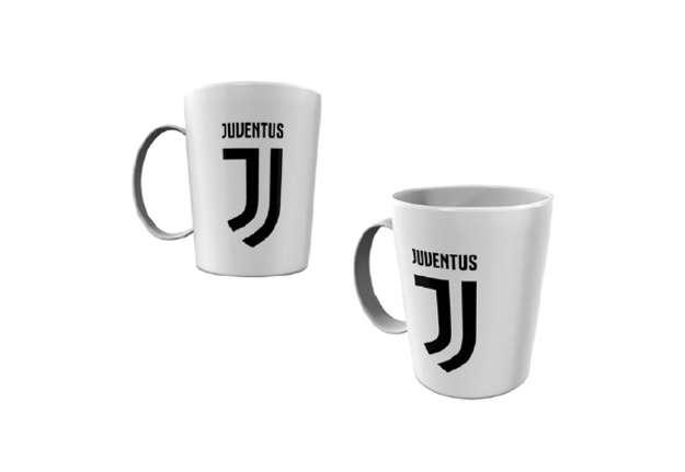 Immagine di Tazza Juventus in melamina con manico