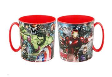 Immagine di Tazza Avengers in plastica 350ml