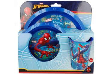 Immagine di Set da tavola 3 pz Spiderman