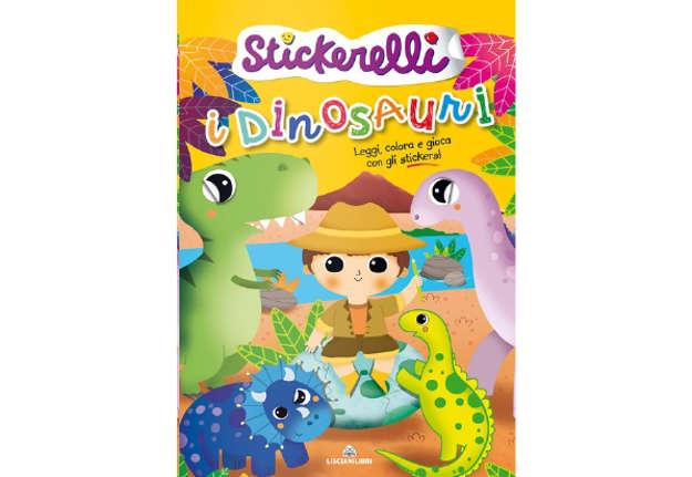 Immagine di Stickerelli - I dinosauri