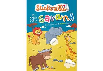 Immagine di Stickerelli - Gli amici della savana
