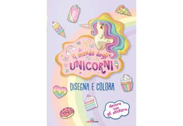 Immagine di Disegna e colora - Il mondo degli unicorni