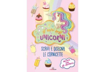 Immagine di Scrivi e disegna cornicette - Gli amici degli unicorni