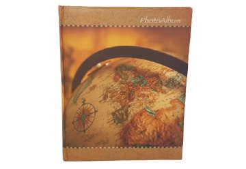 """Immagine di Album foto """"Mappamondo"""" 30 fogli con rilegatura a libro"""