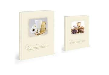 Immagine di La mia prima Comunione Album foto 30 fogli in cartoncino rilegatura a libro