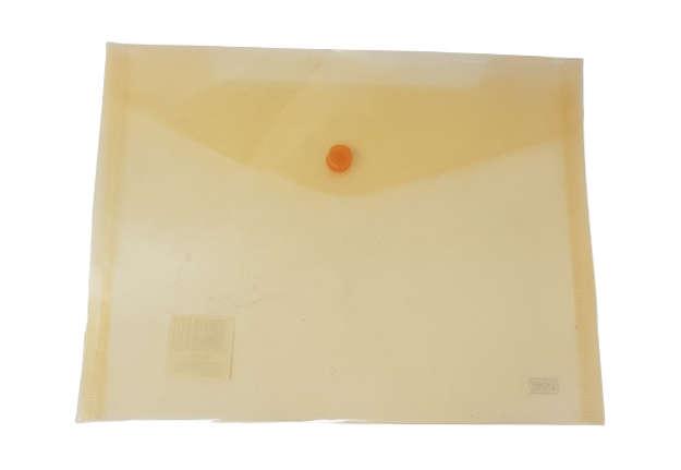 Immagine di Busta bottone A5 orizzontale arancione