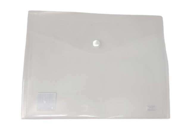 Immagine di Busta bottone A5 orizzontale trasparente