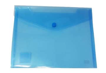 Immagine di Busta bottone A7 orizzontale blu