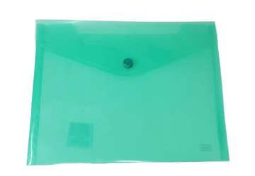 Immagine di Busta bottone A7 orizzontale verde