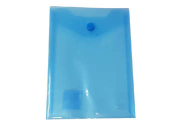 Immagine di Busta bottone A7 verticale blu