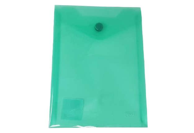 Immagine di Busta bottone A6 verticale verde