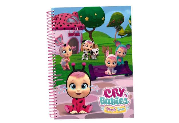 Immagine di Cry Babies notebook A5