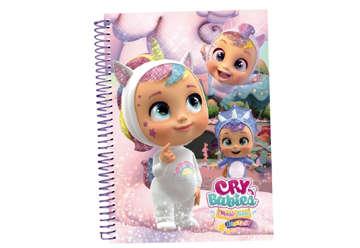 Immagine di Cry Babies notebook A4