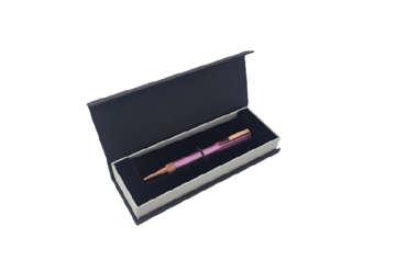 Immagine di Penna Tropea in metallo laccato rosa