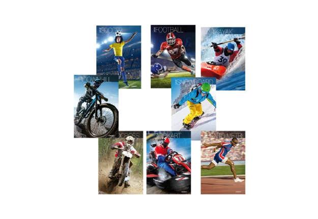 Immagine di Quaderno A4 Sport quadretti 5M