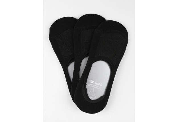 Immagine di Mini calza salvapiede unisex nero 35-38