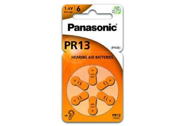 Immagine di Pile Panasonic zinco aria per acustica pr13