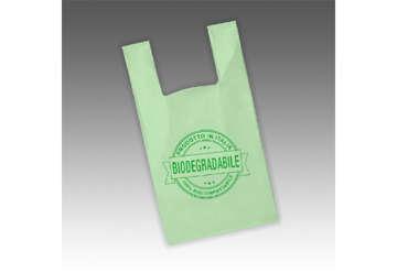 Immagine di Shopper biodegradabile 23x40cm scatola 500pz
