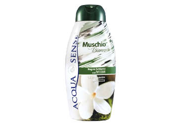 Immagine di Bagnoschiuma Acquasense Muschio bianco 750ml