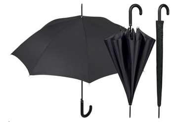 Immagine di Ombrello nero 61cm con fodero