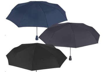 Immagine di Ombrello 54cm nero/blu/grigio
