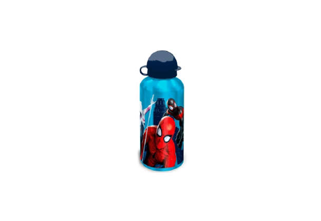 Immagine di Borraccia Spiderman Blu in alluminio 500ml
