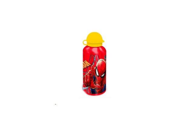 Immagine di Borraccia Spiderman Rossa in alluminio 500ml