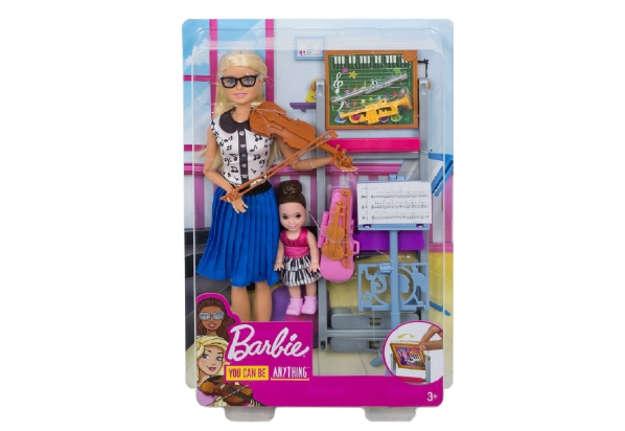Immagine di Barbie professoressa di musica