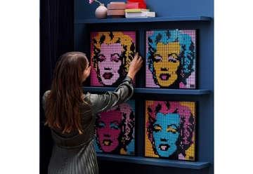 Immagine di Lego Andy Warhols Marilyn Monroe