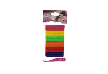 Immagine di Elastici colorati in blister 10Pz