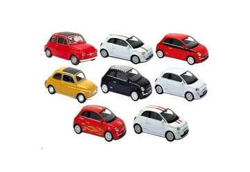 Immagine di Welly Auto Die Cast Fiat 500 1:43