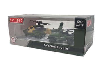 Immagine di Die cast - Auto ed elicottero Esercito