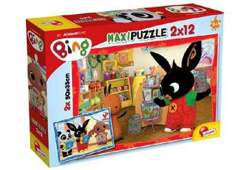 Immagine di Puzzle supermaxi Bing - Bing a scuola! 12pz+12pz