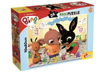 Immagine di Puzzle supermaxi Bing - Art Attack! 24pz