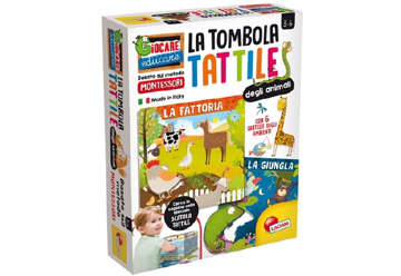 Immagine di Montessori - Plus Tombola tattile degli animali