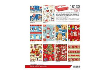 Immagine di Expo 100Pz carta regalo Natalizia 70x100