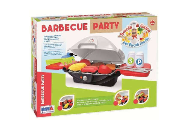 Immagine di Set barbecue party con accessori