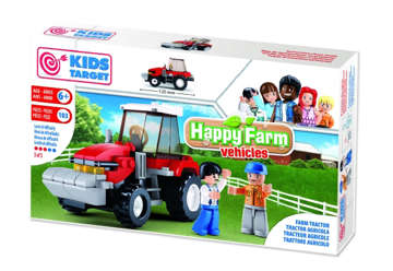 Immagine di Kids target - Trattore agricolo 103pz