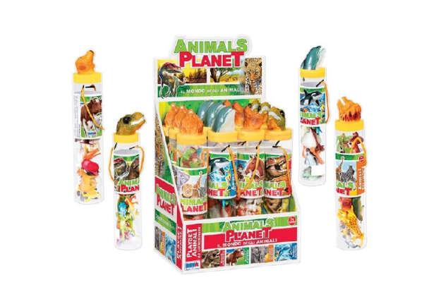 Immagine di Animals Planet - Tubo con 12 animali differenti