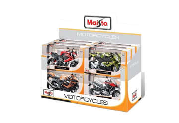 Immagine di Moto assortite in expo da 12 pezzi