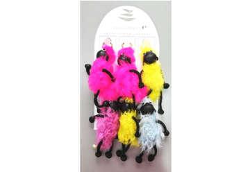 Immagine di Portachiavi pecorella assortiti