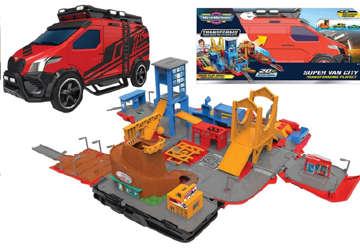 Immagine di Micro Machine supervan + 1 veicolo