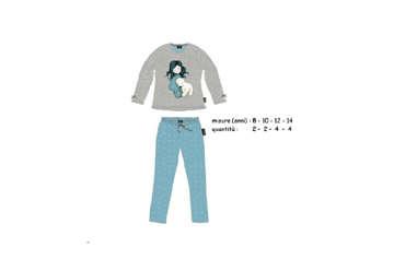 Immagine di Santoro pigiama in caldo cotone 10 anni in scatola