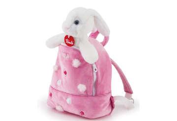 Immagine di Coniglietto zainetto rosa s 11cm