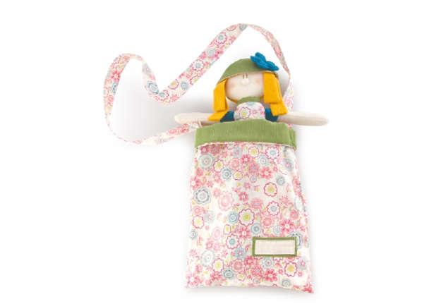 Immagine di Bambola bionda Fleur con borsettina