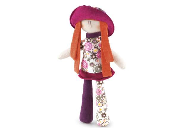 Immagine di Bambola rossa Ambre con borsettina