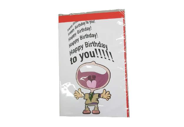 Immagine di Biglietto auguri Happy Birthday