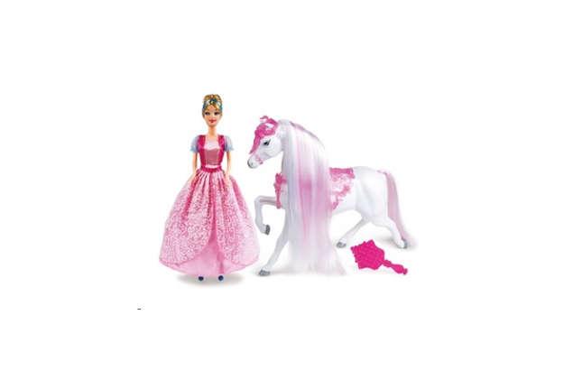 Immagine di Cenerentola con cavallo 30cm