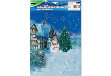 Immagine di Calendario Avvento con stickers