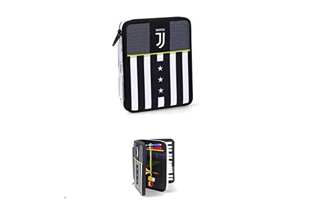 Immagine di Astuccio maxi Juventus soccer school
